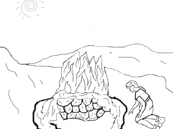 600x450 Elijah Coloring Page, Elijah Coloring Page Jonah And The Whale