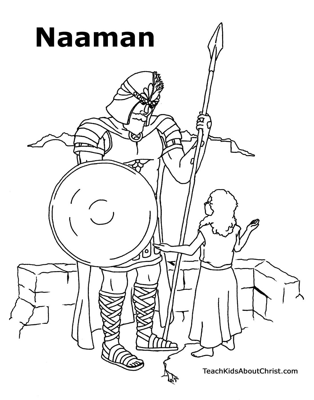 1100x1400 Advice Coloring Pages Naaman Being Healed Colo