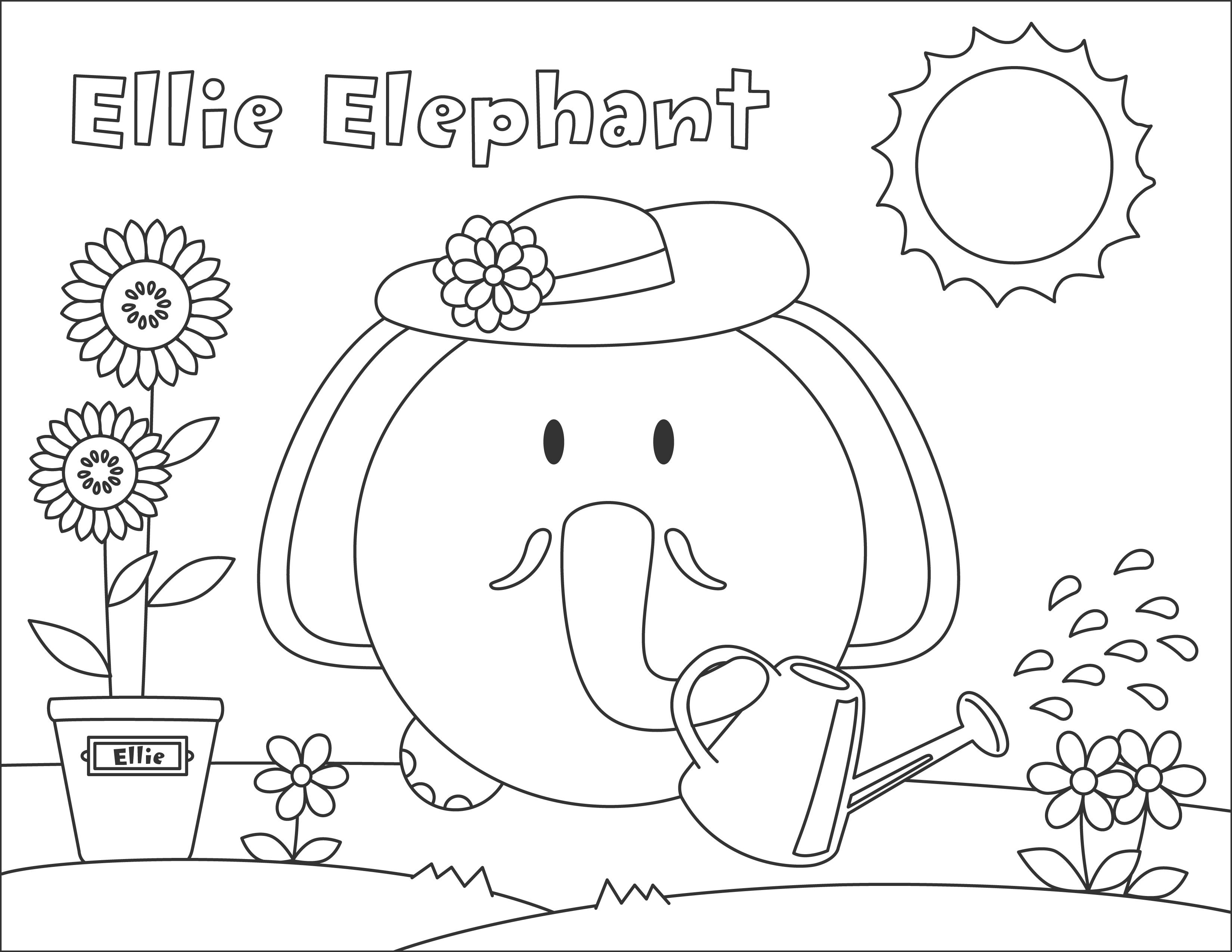 3300x2550 Ellie Elephant