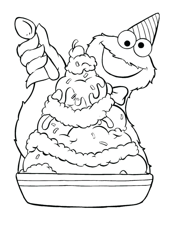 736x1012 Printable Coloring Pages Sesame Street Cookie Monster Printable