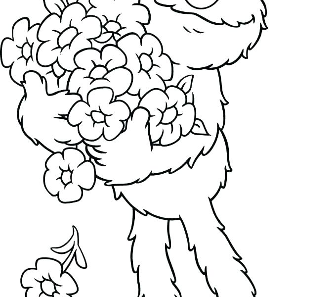 678x600 Best Sesame Street Coloring Pages Images On Sesame Stamps Sesame