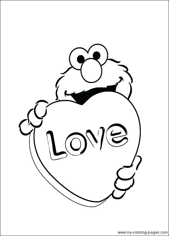 Elmo Coloring Pages Free Printable At Getdrawings Com Free