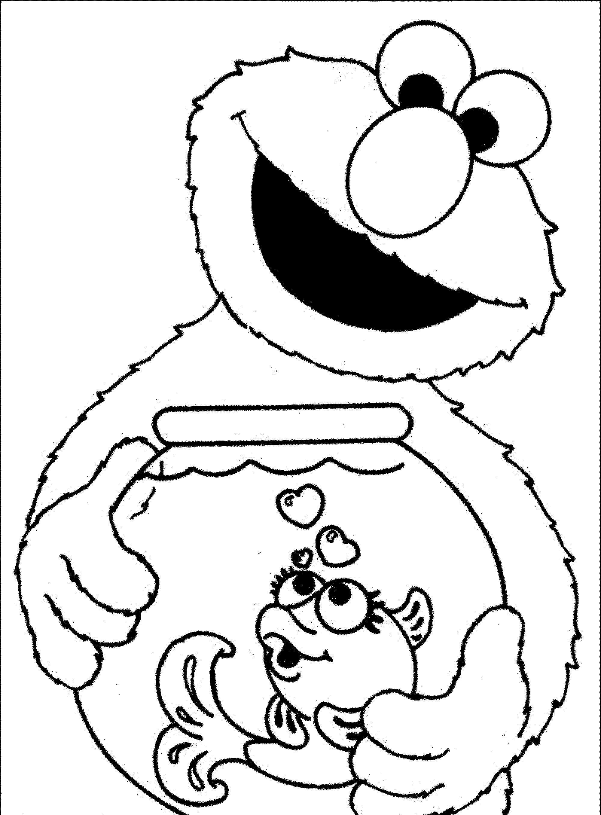 2000x2712 Elmo Coloring Pages Free Printable Charming Elmo Coloring Pages