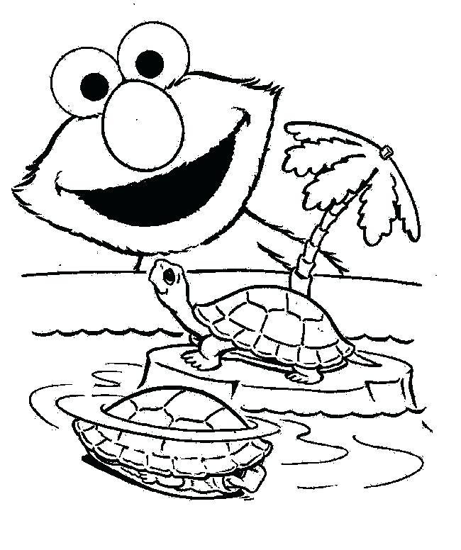 Elmo Coloring Pages Free Printable At Getdrawings Com Free For