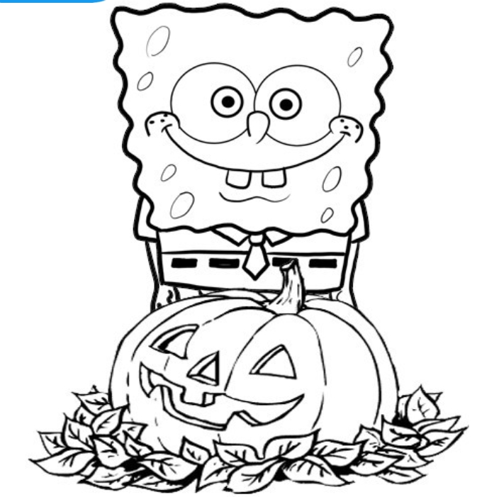 704x701 Free Halloween Coloring Pages