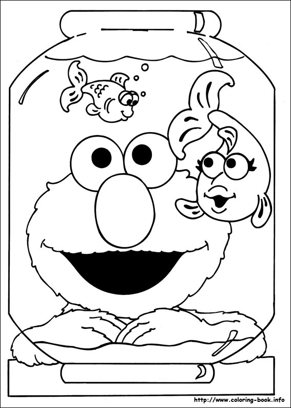 567x794 Sesame Street Printable Coloring Pages Printable Sesame Street