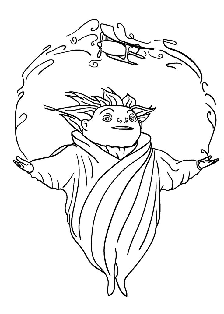 Elsa And Jack Frost Coloring Pages