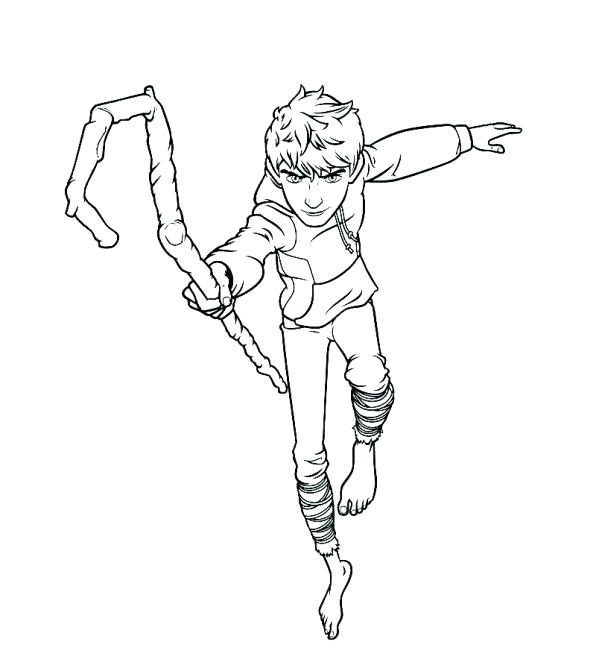 596x671 Jack Frost Coloring Pages Jack Frost Elsa And Jack Frost Coloring