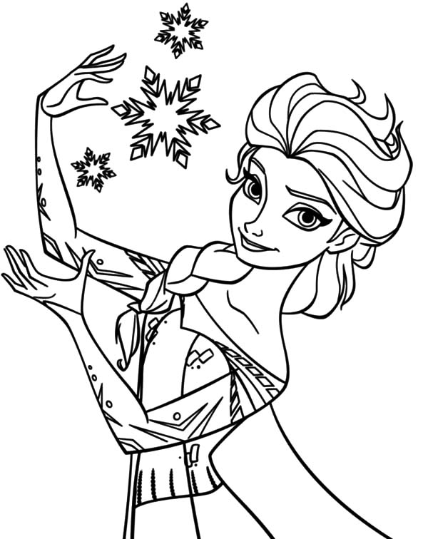 600x756 Elsa Coloring Pages Hd Coloring Pages