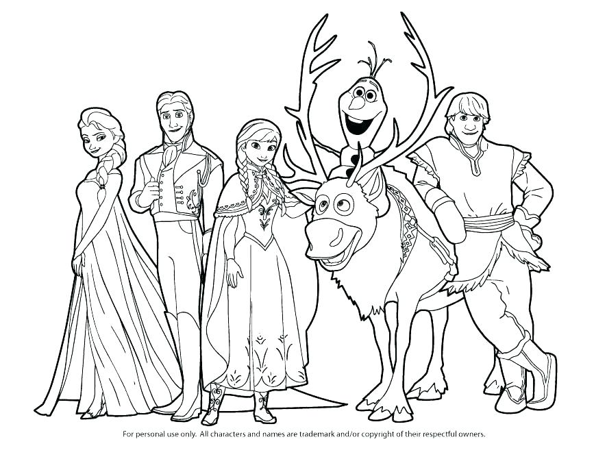867x670 Print Frozen Coloring Pages Frozen Pictures To Color And Print