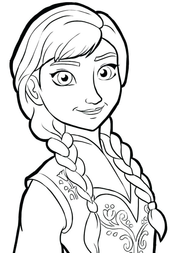 580x832 Free Printable Frozen Elsa Coloring Pages Color Sheets Also Cute
