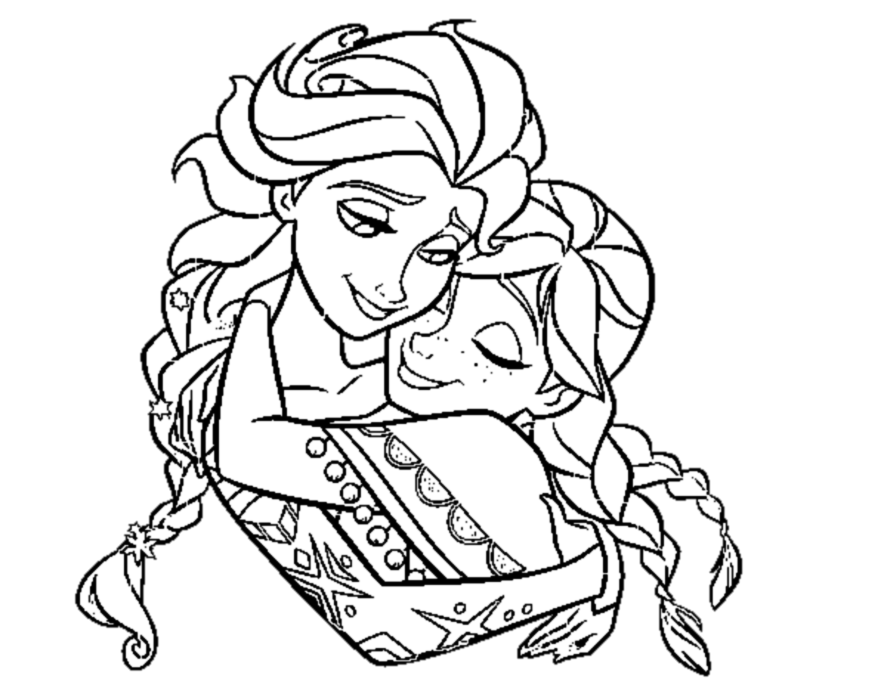 Elsa Coloring Pages For Kids at GetDrawings   Free download