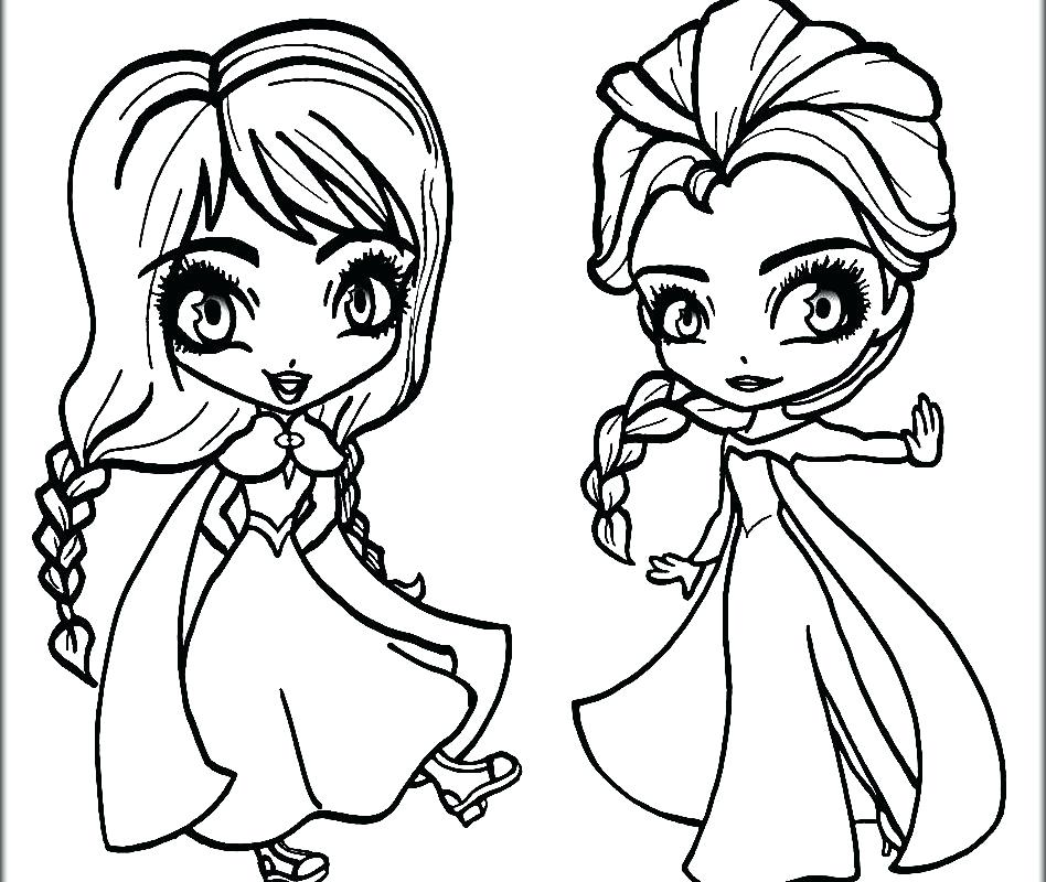 948x800 Idea Frozen Coloring Pages Printable Or Having Fun With The Sister
