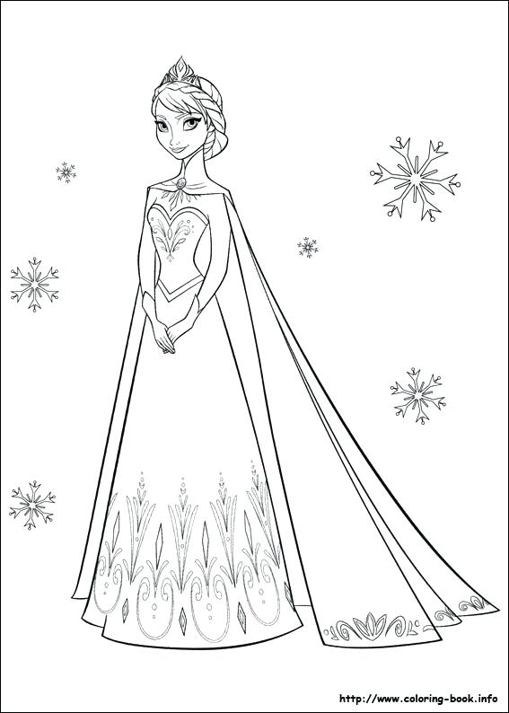 567x794 Coloring Page Coloring Pages Printable Printable Frozen Free