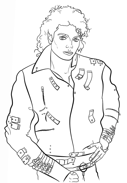 500x719 Elvis Coloring Pages Educational Coloring Pages