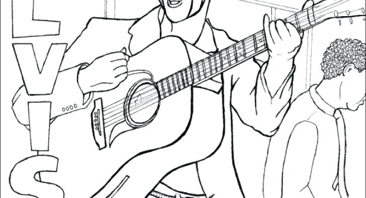 728x393 Elvis Coloring Pages Colouring Gallery Of Art Coloring Pages Elvis