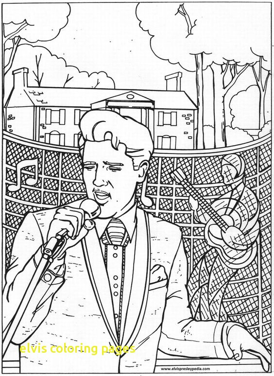 564x774 Elvis Coloring Pages With Coloring Style Images Elvis Presley