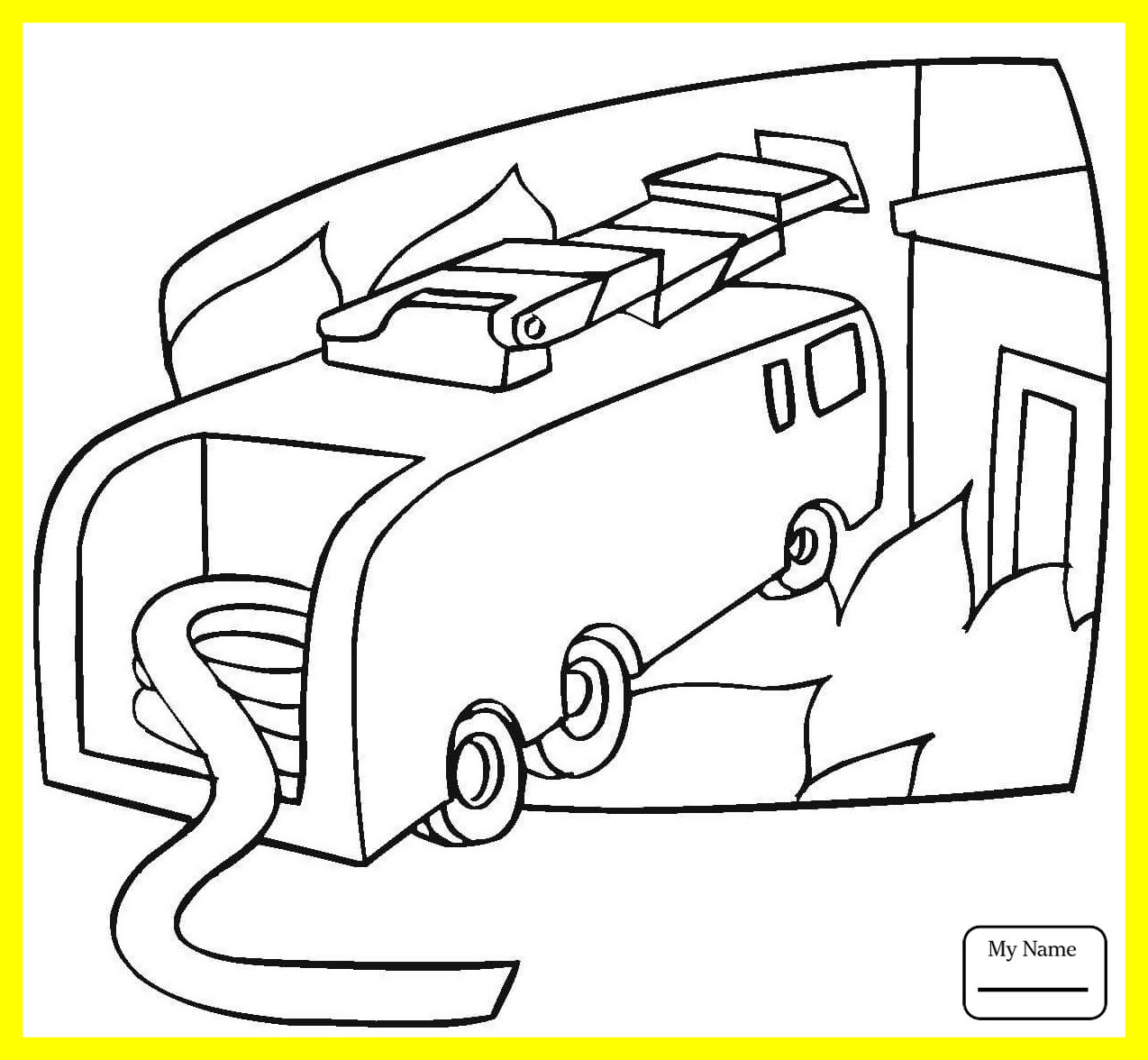 1274x1176 Fascinating Transport Emergency Car Rescue Vehicles Coloring Pages