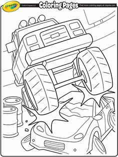 236x314 Emergency Monster Truck Coloring Pages Monster Truck