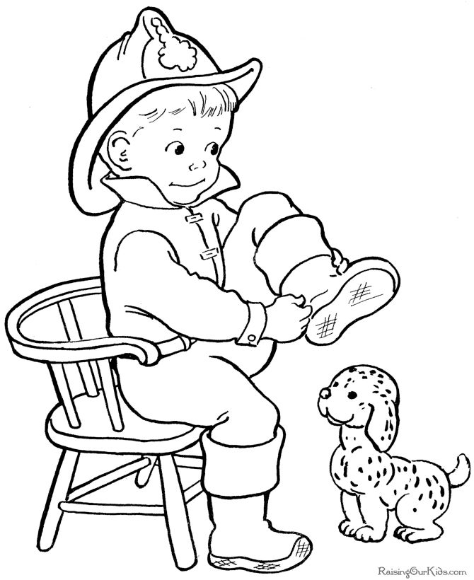 Emergency Room Coloring Pages