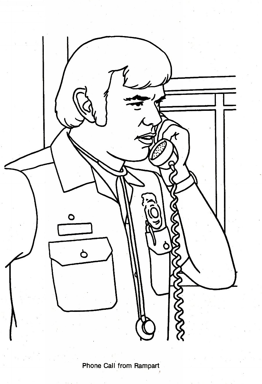 903x1320 Emergency Tv Show Coloring Pages Emergency! Tv Show