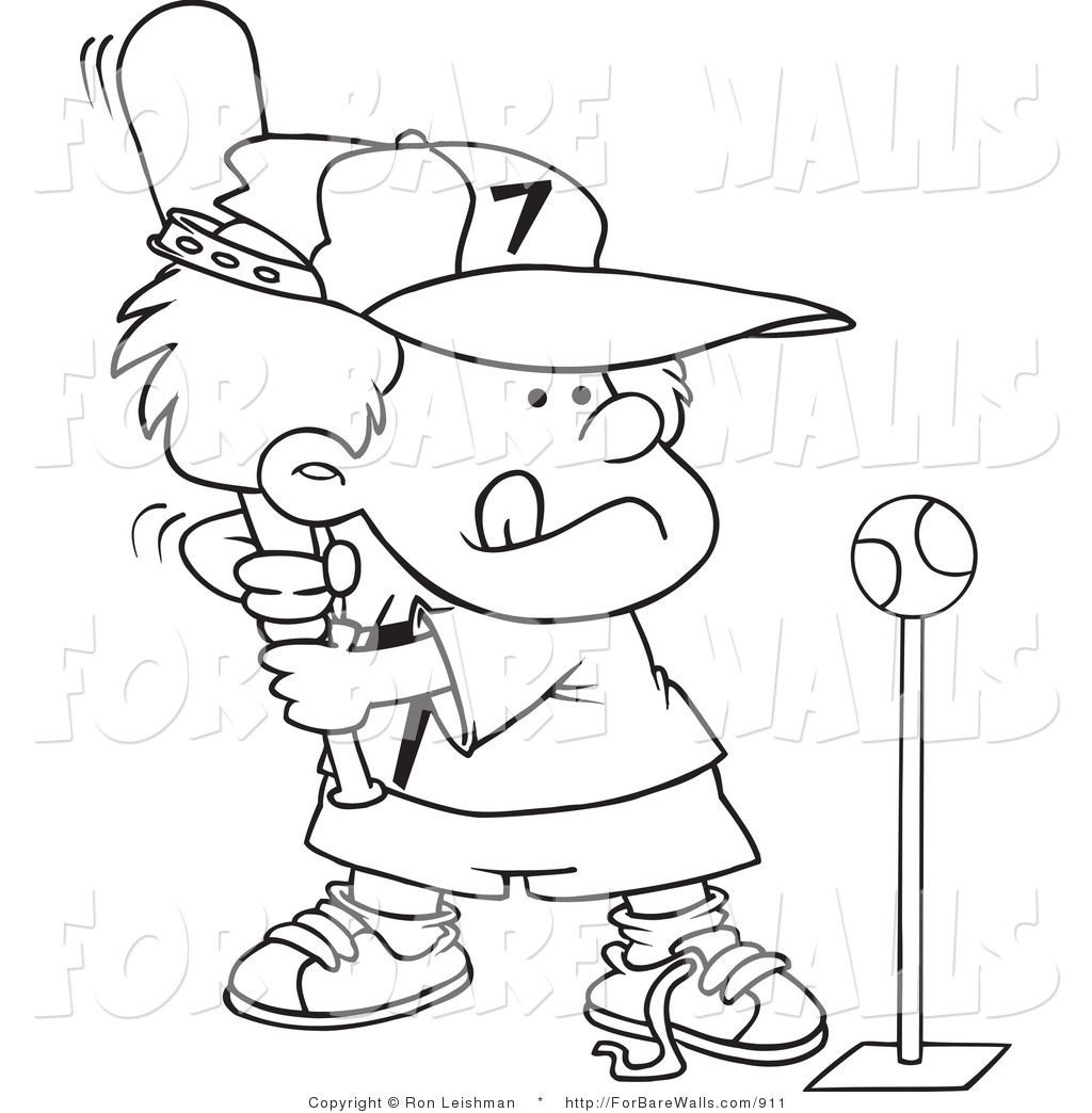 1024x1044 Printable Illustration Of A Coloring Page Of A Boy Playing Tee