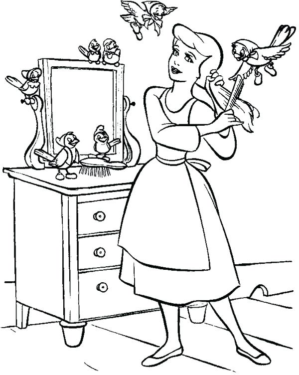 600x752 My Room Coloring Pages