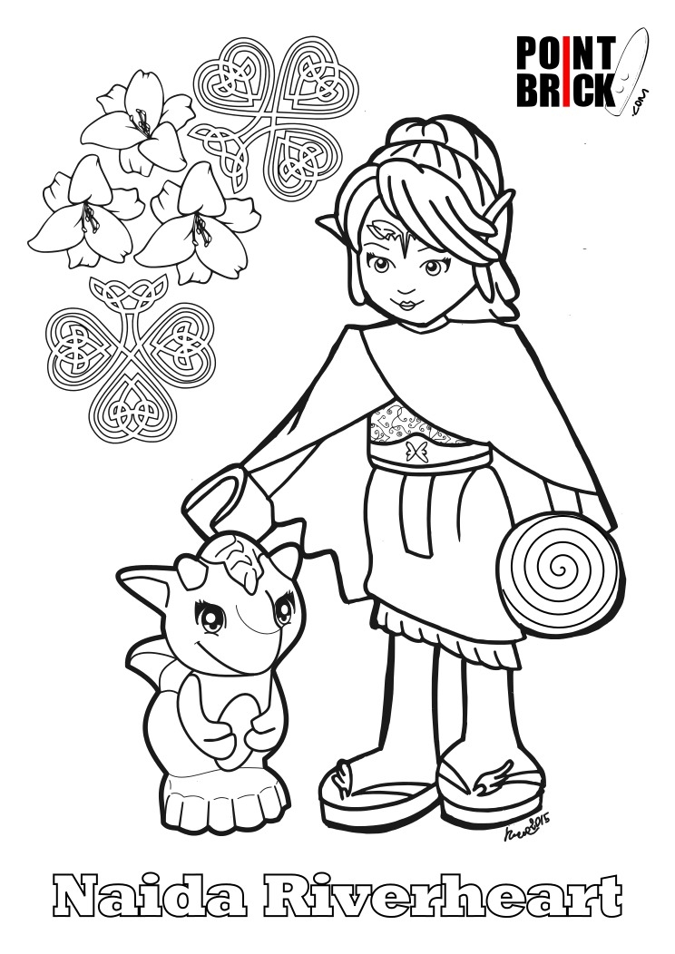 Emily Coloring Pages
