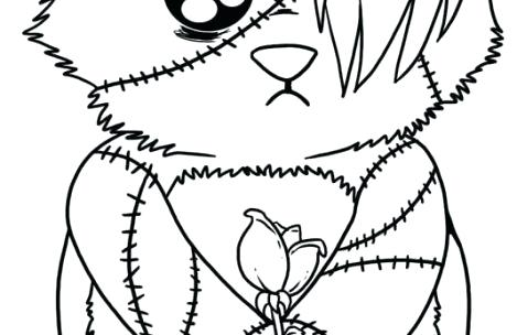 469x304 Emo Coloring Pages Just Cute Coloring Emo Anime Girl Coloring