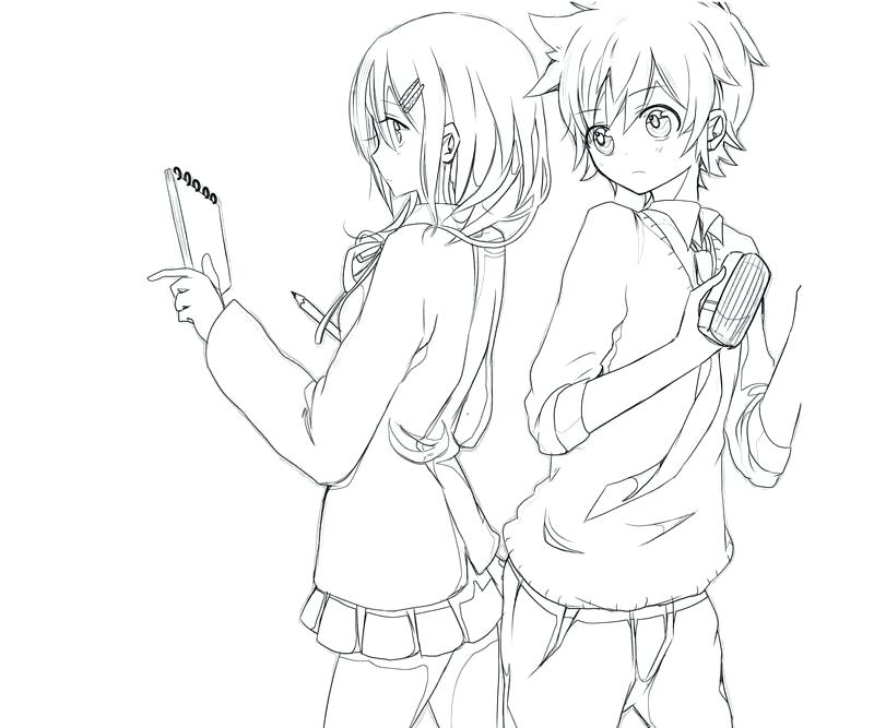 800x667 Cute Couple Coloring Pages Cute Anime Couples Coloring Pages