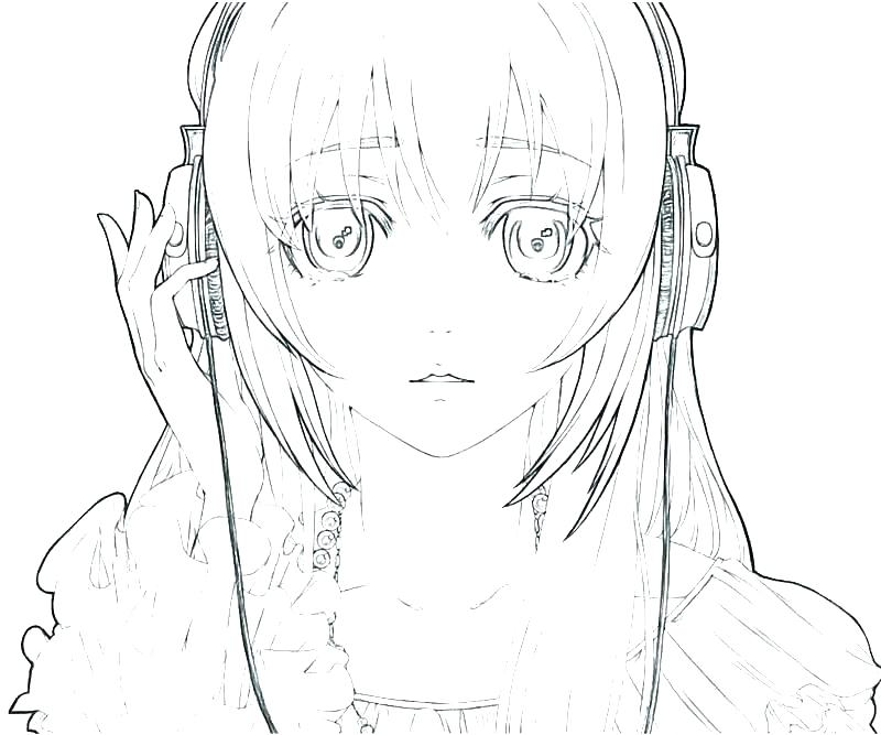 800x667 Emo Girl Coloring Pages Coloring Pages Of Anime Anime Coloring