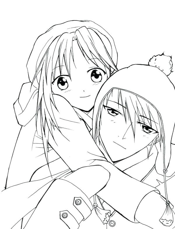 600x784 Cute Couple Coloring Pages Anime Couple Coloring Pages Cute Emo