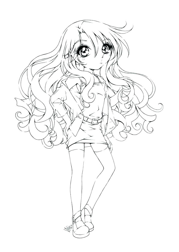 736x1037 Emo Anime Girl Coloring Pages Emo Girl Coloring Pages