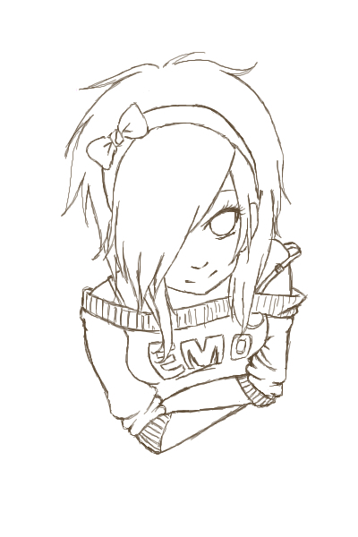 400x600 Emo Coloring Pages Printable Coloring Pages