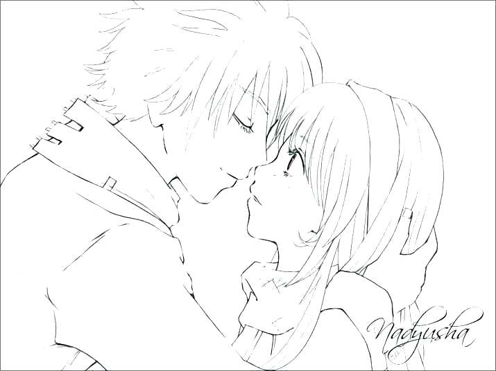 715x536 Coloring Pages Of Anime New Coloring Pages Anime For Emo Girl