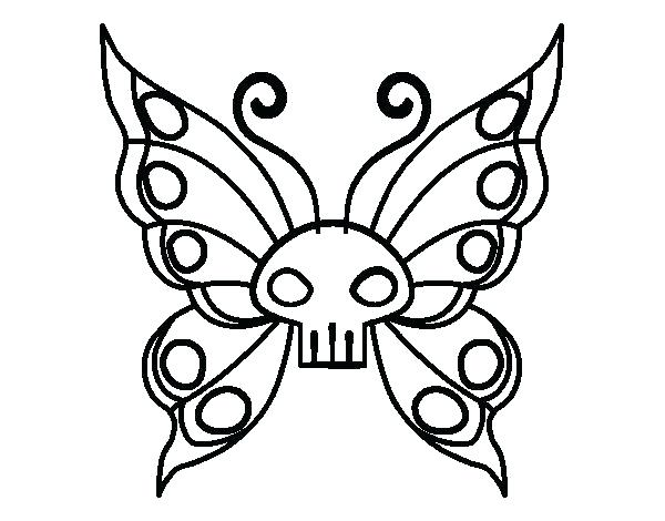 600x470 Emo Coloring Pages Emo Coloring Pages Emo Butterfly Coloring Page