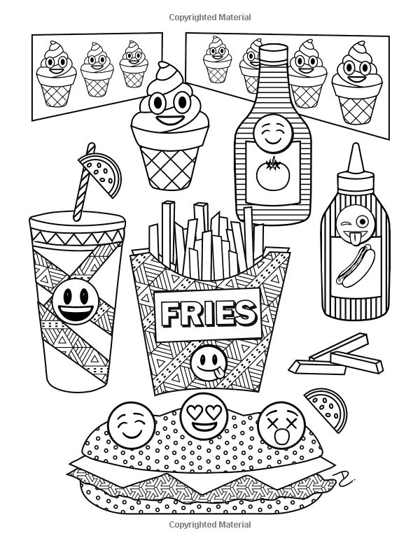600x776 Coloring For Kids Images Books On Gene Emoji Coloring Page Free