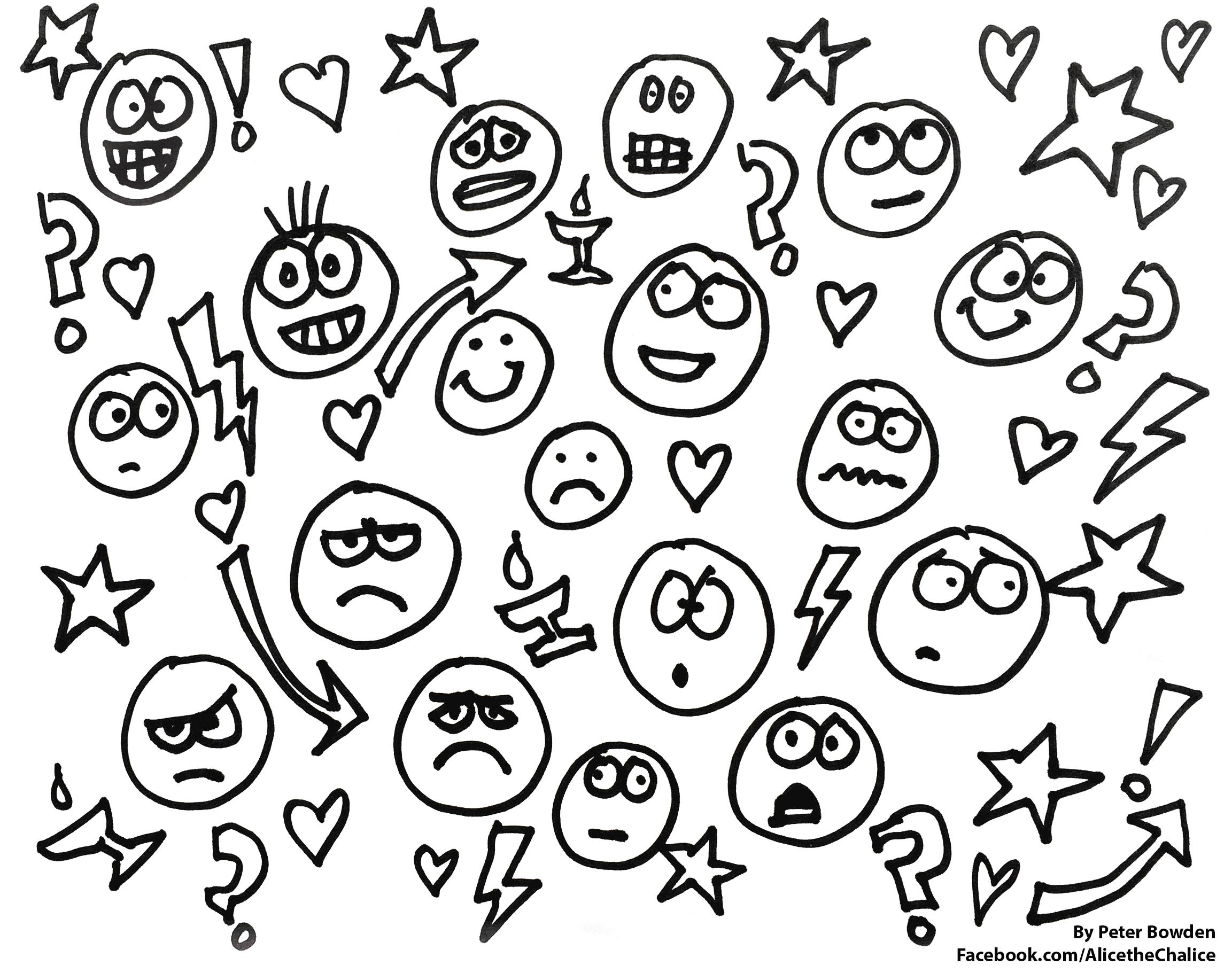 2305x1821 Fresh Uu Emoji Coloring Page Alice The Chalice
