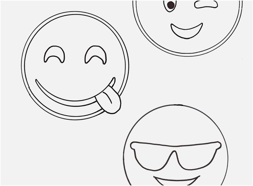 827x609 Free Emoji Coloring Pages Collection Emojis Coloring Pages