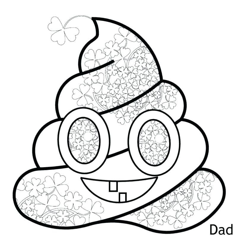 802x815 Free Printable Emoji Coloring Pages Others Drawing