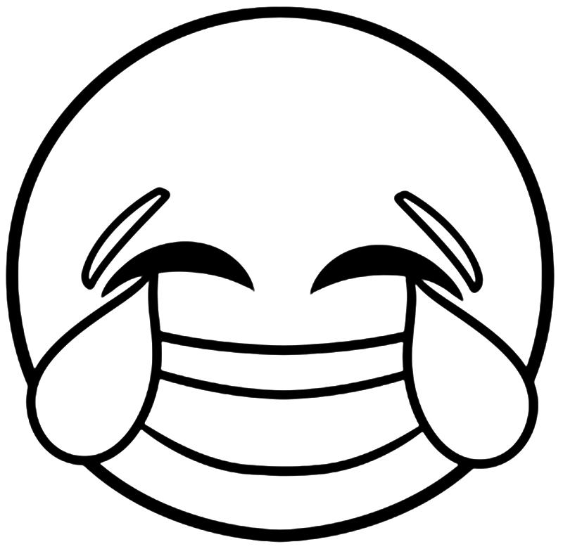 Emoji Printable Coloring Pages