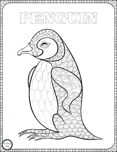495x640 Emperor Penguin Coloring Page Cute Penguin Coloring Pages Emperor