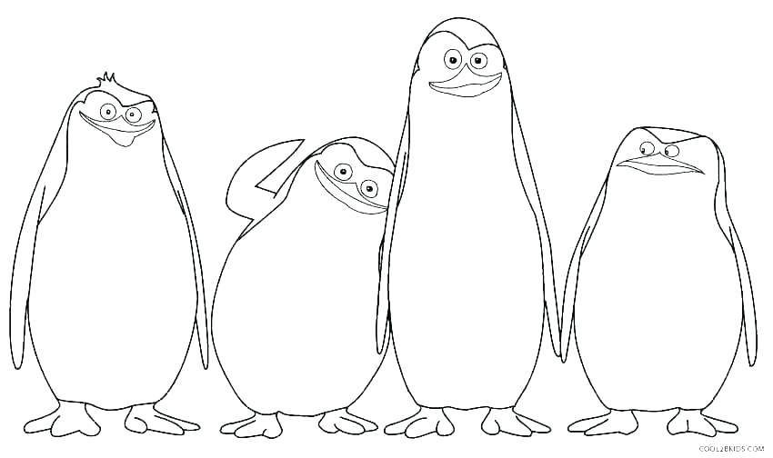 850x504 Penguin Adult Coloring Pages Penguin Adult Coloring Pages Coloring