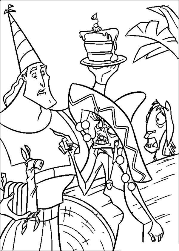 600x840 Best Emperor's New Groove Coloring Pages Images
