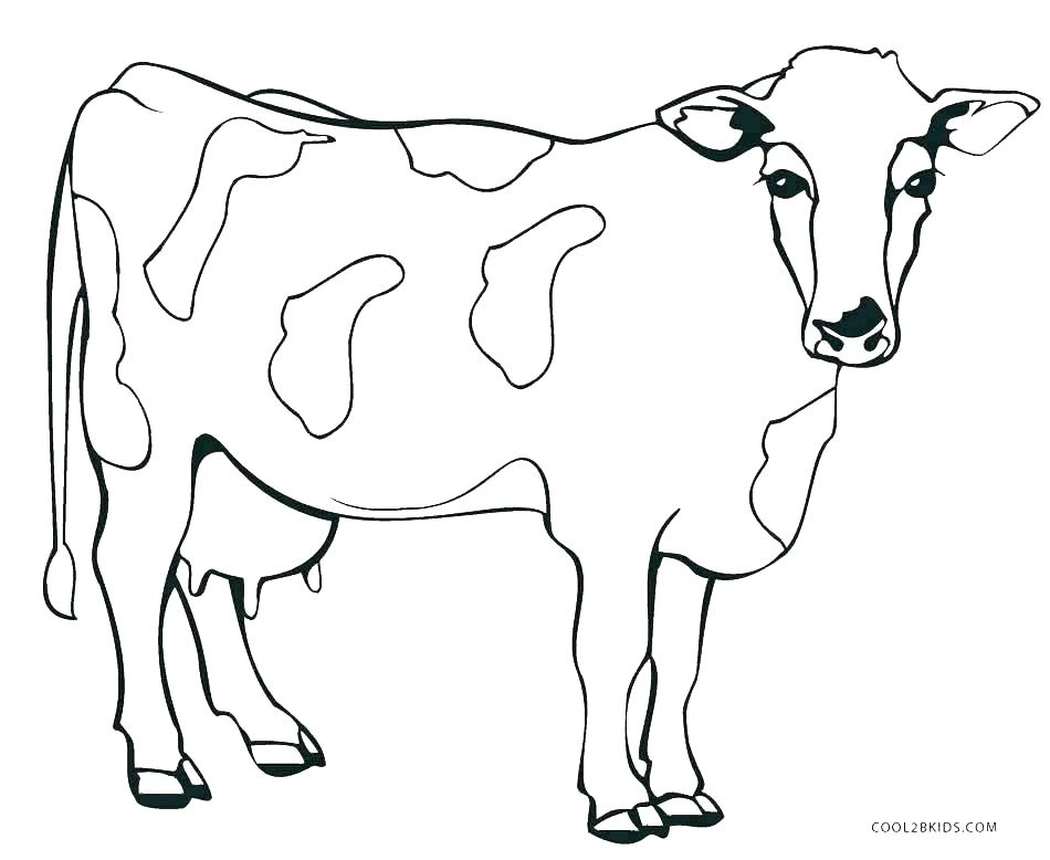 950x778 Cute Animals Coloring Pages Coloring Pages Part Cow And Calf