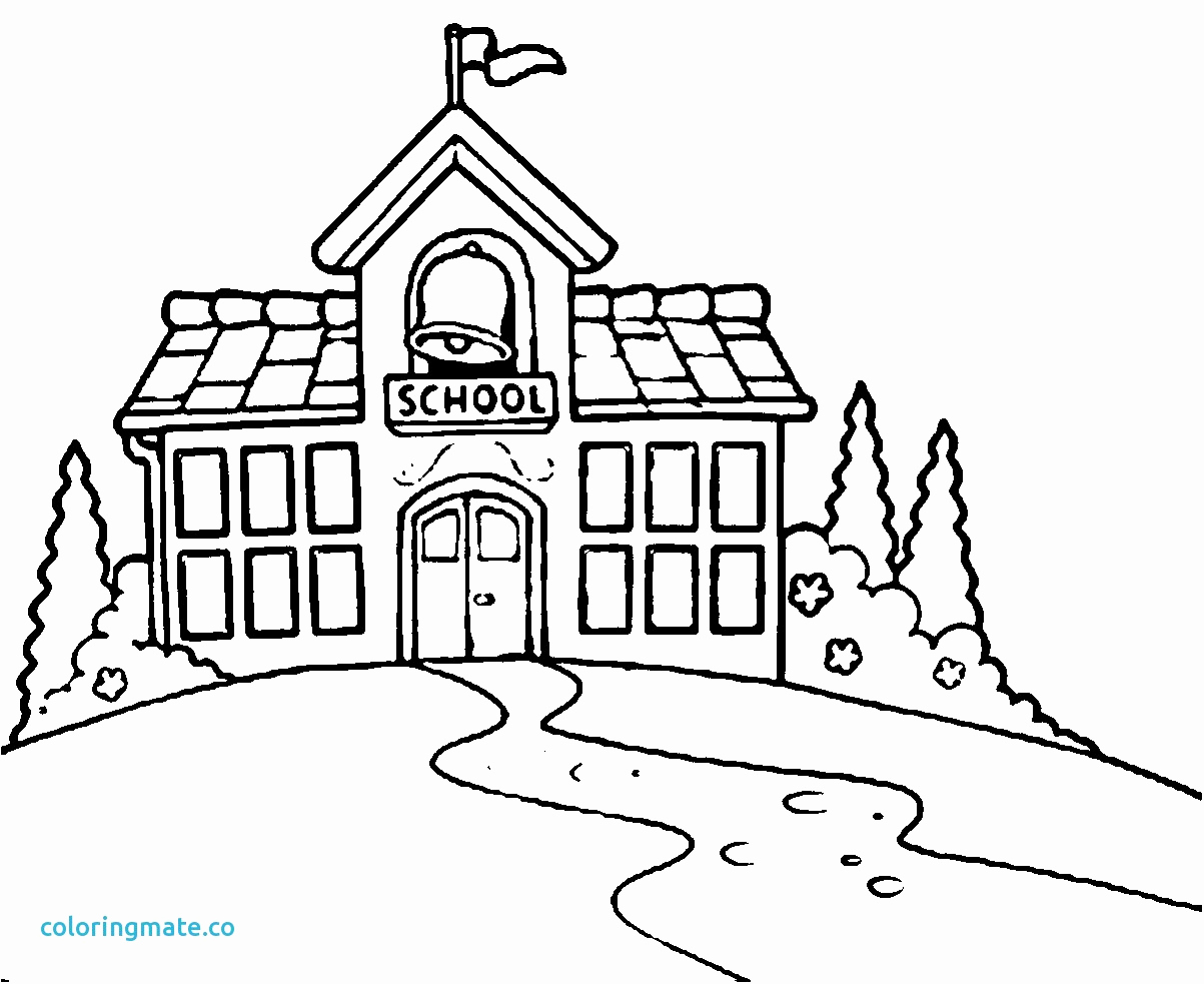 1203x983 Middle School Building Coloring Pages