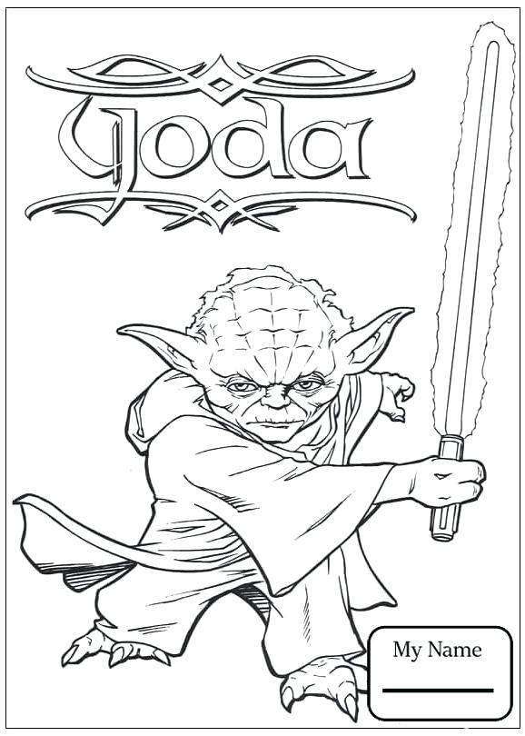 578x810 Luke Skywalker Coloring Pages Coloring Pages For Kids Cartoons
