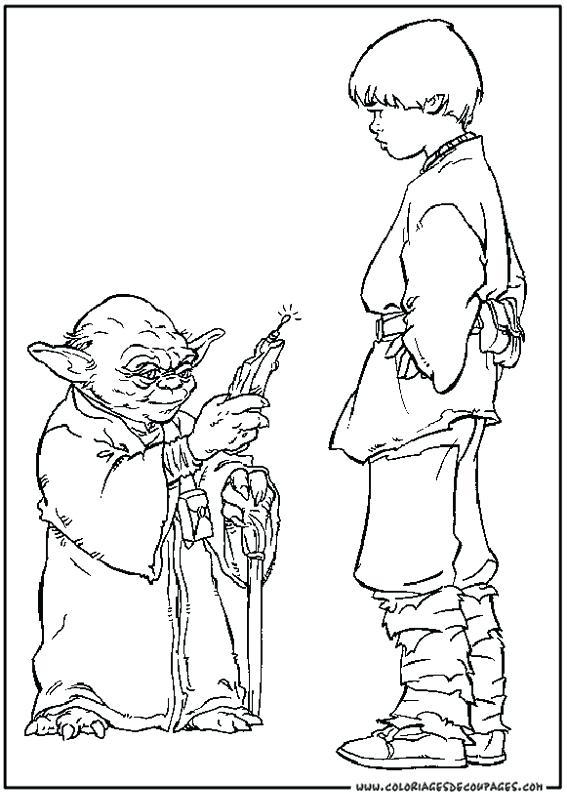 567x794 Obi Wan Kenobi Coloring Pages The Empire Strikes Back Jinn