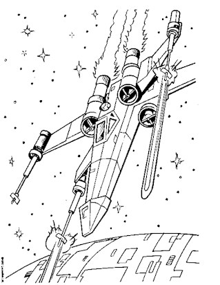 319x412 Star Wars Coloring Pages