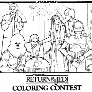 300x300 Star Wars New Hope Coloring Pages New The Empire Strikes Back